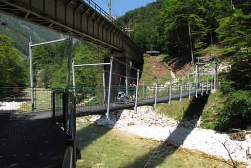 Mosty přes řeku Traun