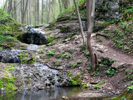 Bubovické vodopády.